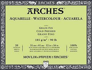papier aquarelle arches grain fin TOP 9 image 0 produit