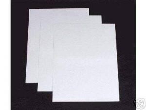 Papier Artisanat pour Imprimante Format A4 Epais Blanc 300gsm X100 de la marque Quickdraw image 0 produit