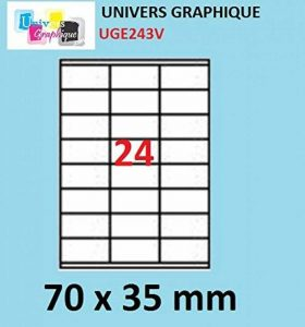 papier autocollant pour imprimante laser TOP 7 image 0 produit