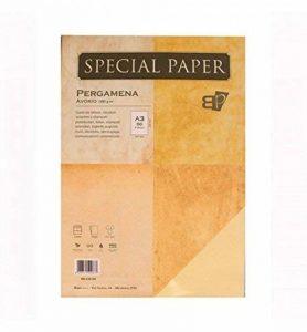 Papier Bapi Parchemin Ivoire A3160gr. 50pièces. de la marque BAPI S.n.c. image 0 produit