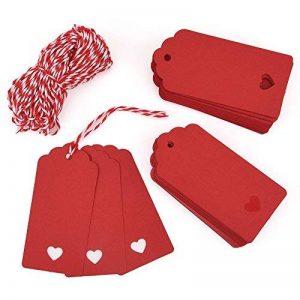 papier cadeau rouge TOP 8 image 0 produit