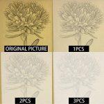 Papier Calque (100 Feuilles), Aodoor Papier à dessin Translucide Papier calque A4 Super qualité pour dessiner, bricoler de la marque Aodoor image 3 produit