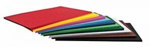 Papier coloré 125 feuilles 10 couleurs FOLIA A2 160g de la marque Folia image 0 produit