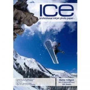 Papier couché professionnel haute qualité Ice - A4 128gms - 100 feuilles de la marque ICE image 0 produit