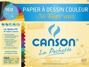 papier couleur canson TOP 2 image 0 produit