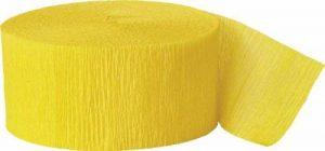 papier crépon jaune TOP 1 image 0 produit