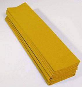 papier crépon jaune TOP 2 image 0 produit