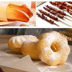 Papier cuisson antiadhésif (33feet/Rouleau) recto verso papier parchemin Moule en silicone pour cuisine/cookies/pain/gâteaux de la marque VANTIYA image 4 produit