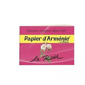 Papier d'Arménie La Rose - Carnet de 36 lamelles de la marque Papier d'Armenie image 0 produit