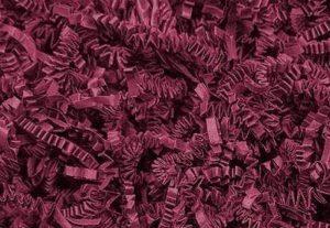 Papier de matériau de remplissage pour cadeaux ou décoration–500g bordeaux de la marque Sizzle-Pak image 0 produit