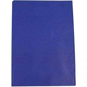 Papier de soie, feuille 50x70 cm, 14 cm, bleu, 25feuilles de la marque Creativ Company image 0 produit