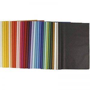 Papier de soie, feuille 50x70 cm, 14 gr, Couleurs assorties, 300flles assort. de la marque Creativ Company image 0 produit