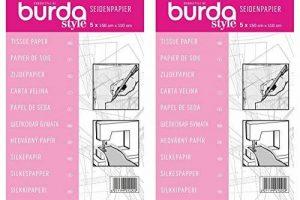 Papier de Soie pour Patrons Burda - Paquet de Deux de la marque Burda image 0 produit