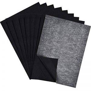 Papier de Transfert de Carbone Papier de Traçage pour le Bois Tissu Toile, 9 par 13 Pouces, 60 Feuilles de la marque Outus image 0 produit