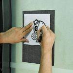 Papier de Transfert de Carbone Papier de Traçage pour le Bois Tissu Toile, 9 par 13 Pouces, 60 Feuilles de la marque Outus image 2 produit