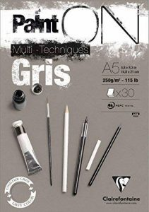 papier gris dessin TOP 9 image 0 produit