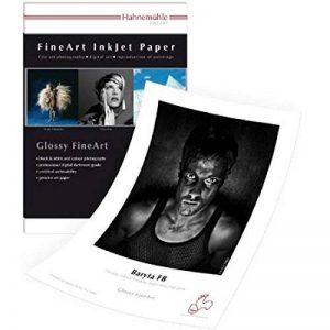 Papier Hahnemühle Digital Fine Art Baryta FB, 350g/m² 329 x 483 mm Blanc clair de la marque Hahnemühle image 0 produit