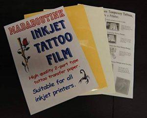 papier impression tatouage TOP 6 image 0 produit