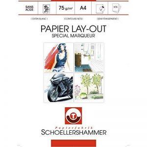 papier layout TOP 9 image 0 produit