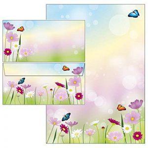 papier à lettre fleurs TOP 2 image 0 produit