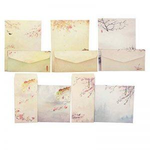 papier à lettre fleurs TOP 4 image 0 produit