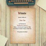 Papier à Lettres Vintage/50feuilles/DIN A4/120g/imprimé des deux côtés Motif papier à lettre au style–de qualité Sophies Carte Monde de la marque Sophies Kartenwelt image 3 produit
