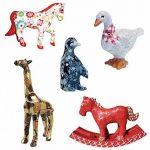 """Papier mâché Figurine 4.5""""-girafe de la marque Décopatch image 1 produit"""