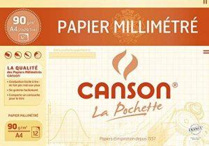 papier millimétré blanc TOP 4 image 0 produit