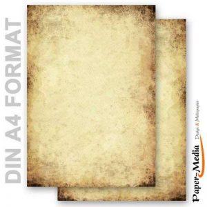 Papier à motif à lettres VIEUX PAPIER 50 feuille de papier DIN A4 de la marque Paper-Media image 0 produit