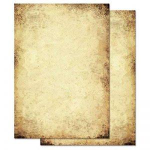 Papier à motif à lettres VIEUX PAPIER DIN A5 format 100 feuille de papier de la marque Paper-Media image 0 produit