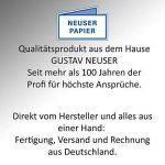 Papier naturel - papier écologique BROWN | DIN A4 | 100 feuilles | - 120 g / m² - carton naturel - carton écologique - papier kraft | 210 x 297 mm | Idéal pour l'artisanat, cartes, invitations - envir de la marque Neuser image 3 produit
