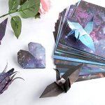 Papier Origami, 70 Feuilles Sky Stars Pack pour la grue de pli, Rose, fleurs, avions, coeurs, arts d'enfants et bricolage, papier de métiers d'art de décoration - feuille carrée de 6 pouces de la marque Veapup image 2 produit