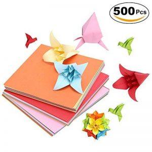 papier origami bicolore TOP 14 image 0 produit