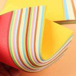 Papier Origami Couleur - 600 Feuilles Papier Couleur Double Face Carré Feuilles de Couleurs Origami Pour Projets Artistiques de la marque GoodtoU image 2 produit