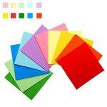 Papier Origami Couleur - 600 Feuilles Papier Couleur Double Face Carré Feuilles de Couleurs Origami Pour Projets Artistiques de la marque GoodtoU image 1 produit