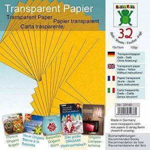 papier origami jaune TOP 1 image 0 produit
