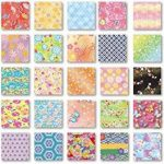 Papier à origami réversible 15cm x 15cm - Toyo - Washifu - Chiyogami - Ryoumen - Chiyogami - Zukushi de la marque TOYO image 1 produit