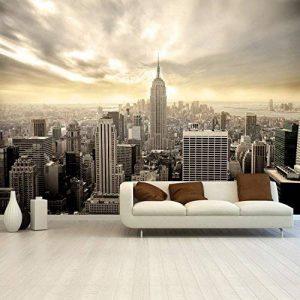 Papier peint photo mural New York Shining Manhattan 366 x 254 cm Deco.deals, brosse à encoller:ohne Bürste / no without de la marque deco.deals top image 0 produit