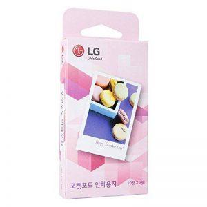 (papier Photo 5 cm x 7,6 cm) pour imprimantes LG Pocket Photo PD221 PD233 et Poche Photo 2 PD239 de la marque LG image 0 produit