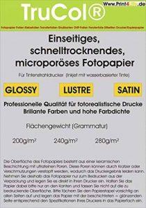 papier photo a4 280g TOP 6 image 0 produit