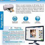 Papier Photo Brillant 10x15 - Eco pack - 200 g/m² - 80 feuilles de la marque Micro Application image 1 produit
