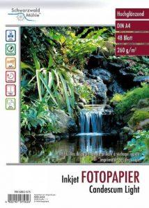 Papier photo double face brillant A4 - 260 G de la marque Schwarzwald Mülhe image 0 produit