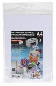 Papier Photo Magnetique imprimable format A4 Haute qualité de la marque MAGNETIC GLOSS image 0 produit