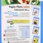 Papier Photo Satiné Professionnel A4-270 g/m² - 25 Feuilles de la marque Micro Application image 1 produit