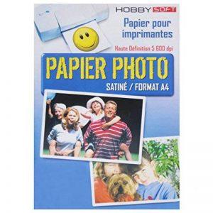 Papier photo Satine A4 160g - 45 feuilles de la marque Autre image 0 produit