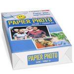 Papier photo Satine A4 160g - 45 feuilles de la marque Autre image 1 produit
