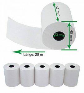 papier thermique 57 mm TOP 6 image 0 produit