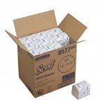 Papier Toilette Plié SCOTT* 36 8577-36 paquets de 300 feuilles blanches 2 plis de la marque Scott image 4 produit