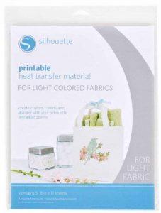 Papier transfert imprimable pour textiles clairs pour Silhouette Caméo Portrait Craft-Robo de la marque Silhouette America image 0 produit