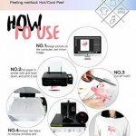 papier transfert imprimable TOP 12 image 2 produit